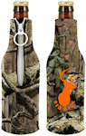Neoprene Licensed Camo Bottle Cooler